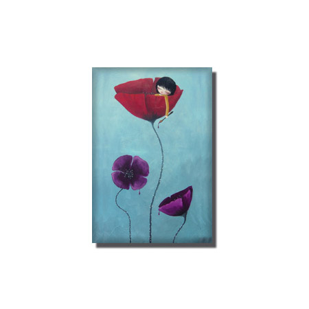 painted-poppies-magnet-shop